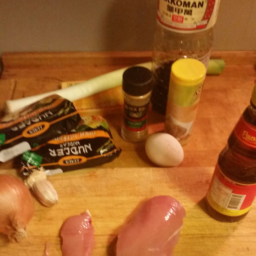 Noodle Soup 1 - Ingredients