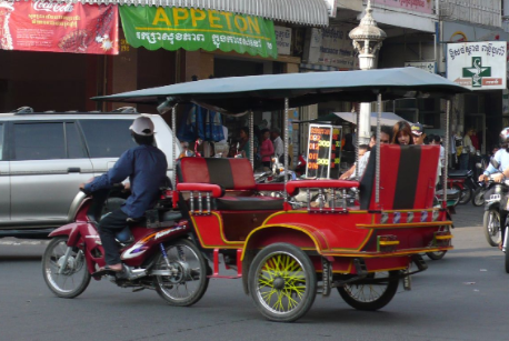Tuktuk, https://commons.wikimedia.org/wiki/File:Cambodia_tuk_tuk_2006.jpg, changes were made